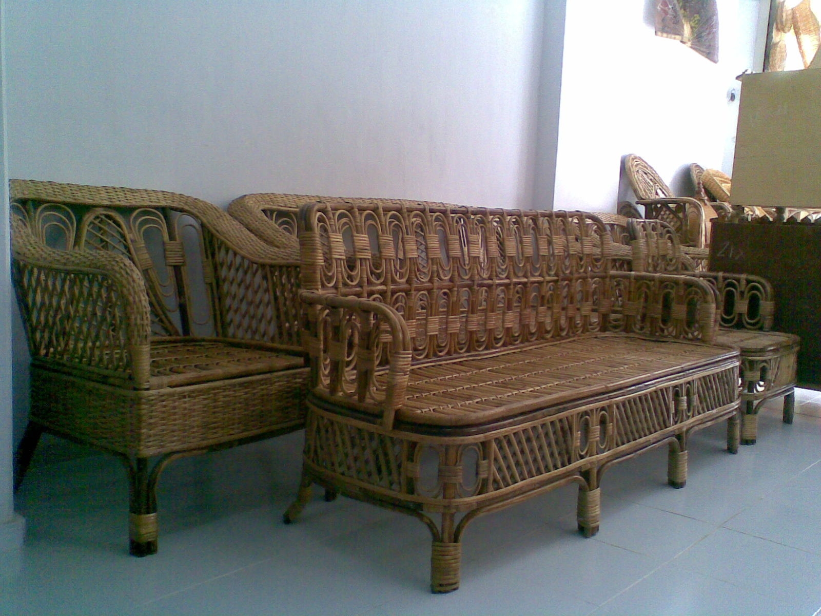 Second Hand Cane Sofa Set In Hyderabad Baci Living Room