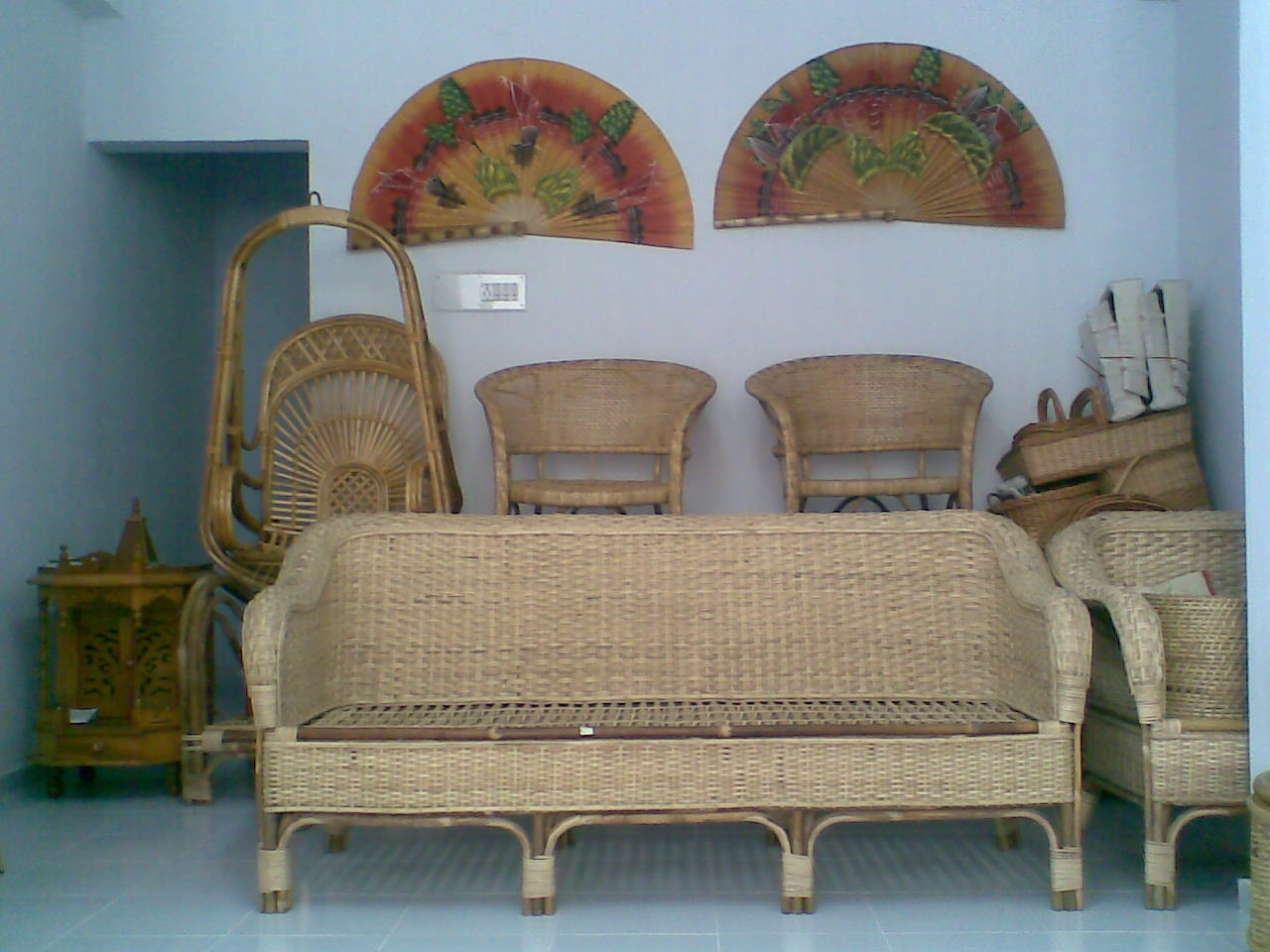 Cane Sofa Set Online Bangalore